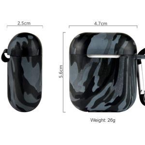 XIHAMA apple AirPods対応 ケース カバー 収納ケース ワイヤレスイヤホンケース 保護用 防水 シリコン製カバー 耐衝撃|hellodolly