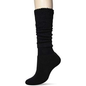オカモト 靴下サプリ まるでこたつソックス O792-982 レディース ブラック 23-25cm