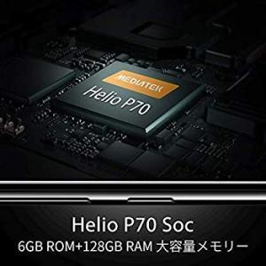 OUKITEL Y4800 SIMフリー スマホ本体 48MP AIカメラ6GB RAM 128GB...