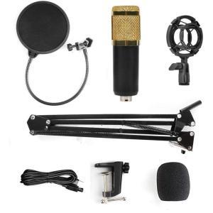 Magsbud マイクセット USB マイク コンデンサーマイク マイクスタンド PC マイクセット マイクスタンド 高音質 アームスタンド|hellodolly