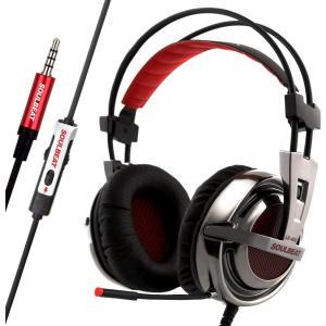 SOULBEAT ソウルビート 902 ゲーミング ヘッドセット ヘッドホン ヘッドフォン マイク付き ゲーム用 高音質 有線 5.1ch|hellodolly