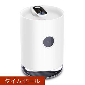 Soundflow USB充電式 卓上加湿器(3000mAhバッテリー内蔵) 1000ml ナイトライト搭載 6畳まで対応 ホワイト|hellodolly