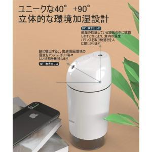 Jacess 卓上 加湿器 LG2600mAh 大容量 令和革新モデル 超音波式 加湿器 超静音 車用加湿器 除菌 暖かい電球色LEDライト|hellodolly
