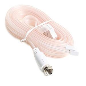 Wuernine FMアンテナ ラジオアンテナ 75Ω F型オスプラグ ステレオレシーバーなど用 室内 高感度 hellodolly