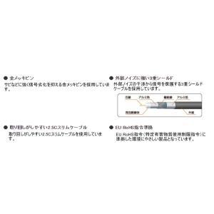 エレコム アンテナケーブル 2.5C スリムタイプ F型端子 ネジ式ストレート‐ネジ式ストレート型 1m ブラック AV-ATNN10BK hellodolly
