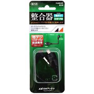 日本アンテナ 整合器(小型テレビ用) F型-φ3.5mmミニプラグ PJ35B-SP hellodolly
