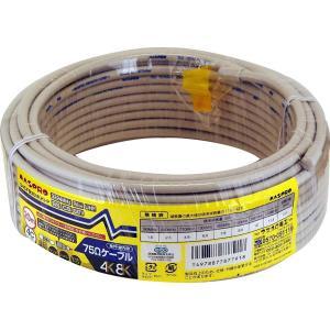 マスプロ電工 家庭用75Ω4Cケーブル 灰色 20m S4CFB20M(H)-P|hellodolly