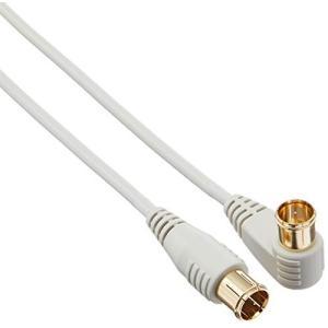 ELPA 2.5CFBアンテナケーブル F形プラグL形-F形プラグ 1m CA-210|hellodolly