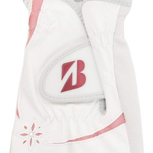 BRIDGESTONE(ブリヂストン) ゴルフグローブ TOUR B グローブ FITLADY レディース GLG76J 右利き用 ホワイト|hellodolly