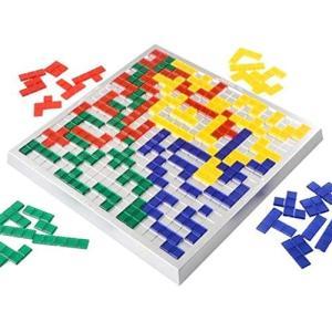 (イスイ)YISHUI ブロックス デュオ 方格遊戯 知育玩具 2-4人 HP0130 (2人)