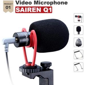 スマートフォンビデオマイクキット マイク、スマホホルダー、ミニ三脚付き 垂直&水平 vlog YouTube 映画製作用 iPhone 11 hellodolly