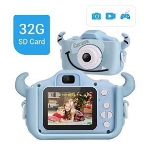 LYPULIGHT子供用 デジタルカメラ トイカメラ 子供プレゼント 子供カメラ 1600万画素 2.0インチ 多機能 USB充電 日本語説 hellodolly