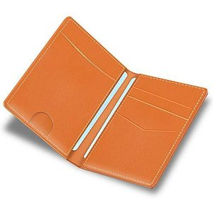 定期入れ 牛革 レザー 二つ折り 三面 本革 パスケース 両面 干渉防止 エラー防止 バタフライ icカード カードケース 社員証 免許証 hellodolly