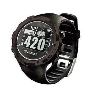 ショットナビ ゴルフウォッチ GPSナビ ゴルフナビ 腕時計型 ブラック W1-GL hellodolly