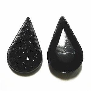 22105-《Vintage・カボション》 Pear 13x7.8mm 2個/1セット|hellospace