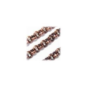 4212-【チェーン】二重チェーン 3mm 銅古美 約100cm 1本|hellospace