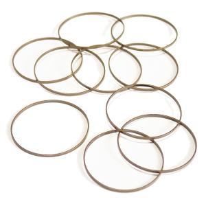 4714-《輪パーツ》 リングパーツ 真鍮古美 25mm 10個/1パック|hellospace