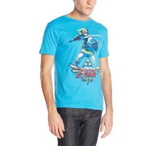 ゼルダの伝説 大人用 メンズ Tシャツ スカイワード グッズ