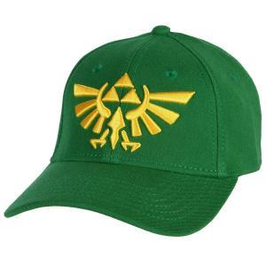 ゼルダの伝説 トライフォース グリーン キャップ 帽子
