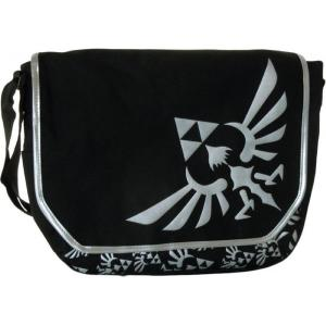ゼルダの伝説 トライフォース グリーン ブラック メッセンジャーバック 鞄