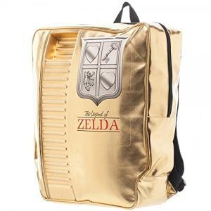 ゼルダの伝説 NES ゴールドバックパック リュック カートリッジ