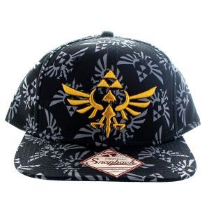 ゼルダの伝説 トライフォース オールオーバープリント キャップ 帽子