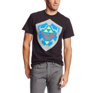 ゼルダの伝説 大人用 メンズ Tシャツ シンプルシールド グッズ