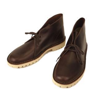 Clarks クラークス Desert Trooper デザートトゥルーパー Brown Leather デザートブーツ US ライン