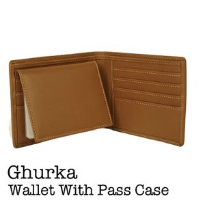 GHURKA グルカ Wallet With Pass Case No.162  使い込む程に味が出...