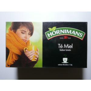 HORNIMANS  ペルーの紅茶 はちみつ入りシナモンティ レモン風味       ティーバッグタイプ    送料無料