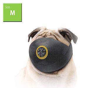 犬用噛み癖、舐め癖防止用品 ショートノーズマズル (M) DSN-2 口輪 無駄吠え防止 噛みつき防止 しつけ
