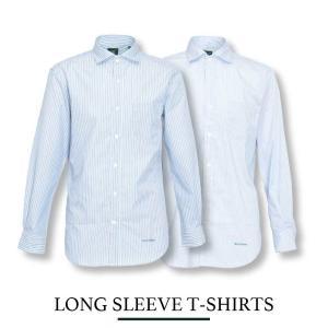 ブロードストライプ レギュラーカラーシャツ【Henry Cotton's(ヘンリーコットンズ)】 カジュアル 30代 40代 50代 新作 シンプル M L LL サックス ブルー 21aw henry-cottons