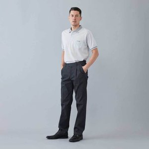 TC ストレッチ ツータック チノパン【Henry Cotton's(ヘンリーコットンズ)】 ビジネス 30代 40代 50代 新作 チャコールグレー ベージュ 20aw|henry-cottons