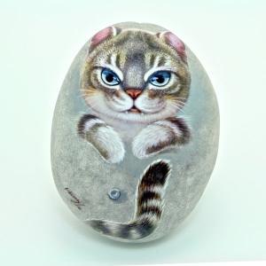 ヘンリーキャットGEアートストーン猫シリーズ【シンバ】|henry-shop