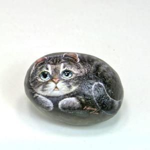 ヘンリーキャットGEアートストーン猫シリーズ【ミッシー】|henry-shop