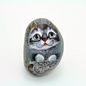 ヘンリーキャットGEアートストーン猫シリーズ【パッチ】|henry-shop