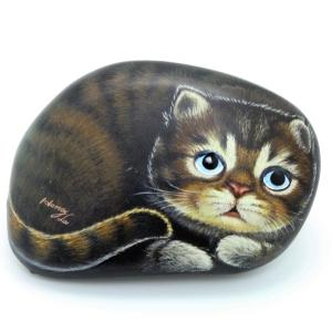 ヘンリーキャットGEアートストーン猫シリーズ【シャドー】|henry-shop