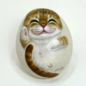 ヘンリーキャットGEアートストーン猫シリーズ【ベラ】|henry-shop