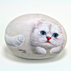 ヘンリーキャットGEアートストーン猫シリーズ【オリビア】|henry-shop