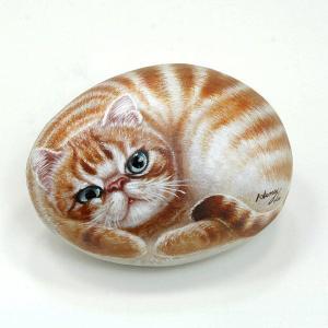 ヘンリーキャットGEアートストーン猫シリーズ【ウイリー】|henry-shop