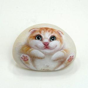 ヘンリーキャットGEアートストーン猫シリーズ【パール】|henry-shop