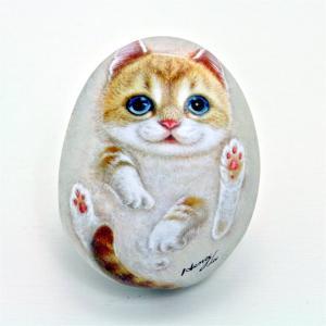 ヘンリーキャットGEアートストーン猫シリーズ【マーチ】|henry-shop