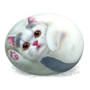 ヘンリーキャットGEアートストーン猫シリーズ【フラワー】|henry-shop