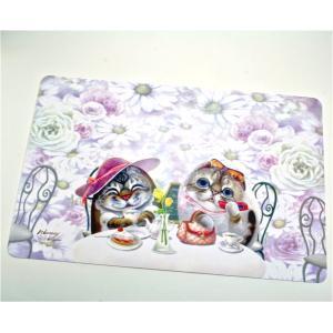 Henry Cats & Friends ランチョンマット ティータイム|henry-shop