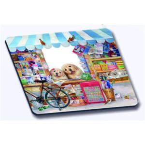 HenryCats&Friends フォトフレーム マウスパッド 楽しいお店番|henry-shop