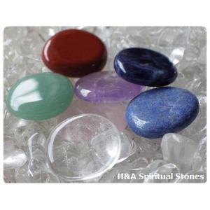 7つのチャクラ・癒しのクリスタルワーク♪ヒーリングストーンSサイズ単品(9種類)【メール便可】|herbalkstore