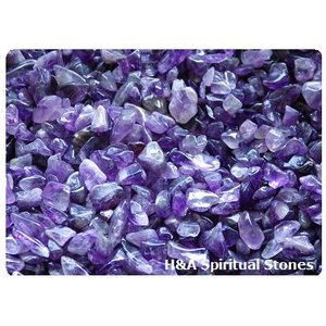 【メール便可:量売り】アメジストAグレード 紫水晶M(中粒)サイズ50g〜:さざれ石・さざれストーン:浄化用アイテム Amethyst herbalkstore