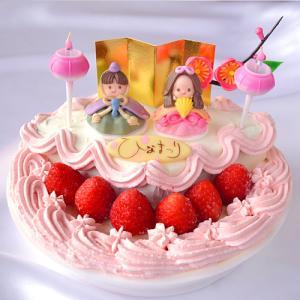 ひな祭り 限定 ・ ひなまつり アイスケーキ 6号