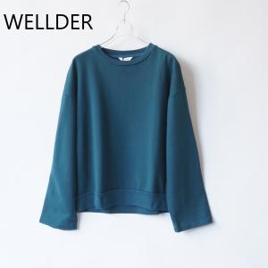 【WELLDER|ウェルダー】バックサイドタッククルーネック/SCS02 【素材構成】コットン100...