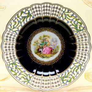 ヘレンド 絵皿 飾り皿 透かし彫り ハンドペイント ワトースタイル マスターペインターのサイン入り|herend-met